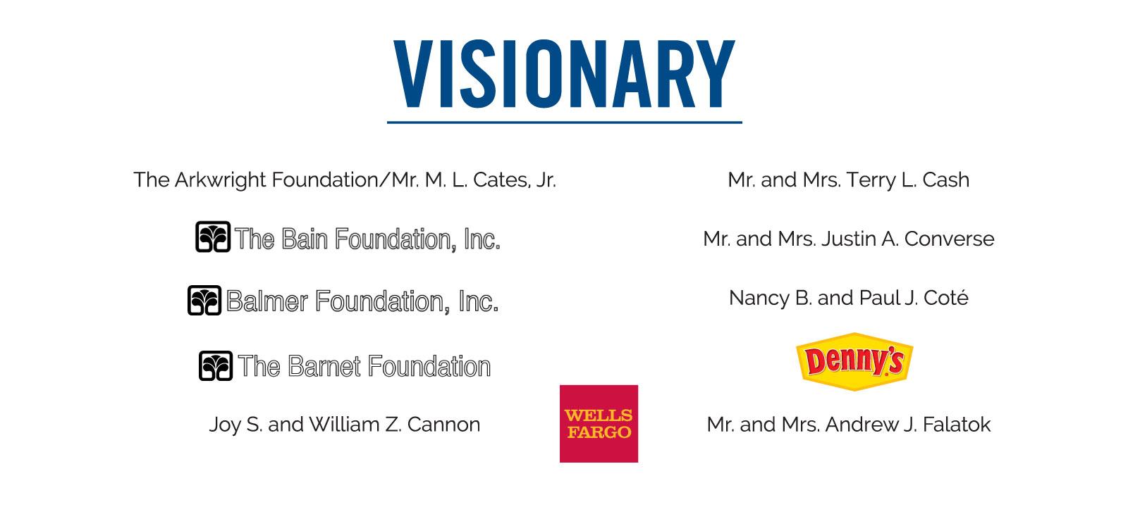 Visionary Sponsorship