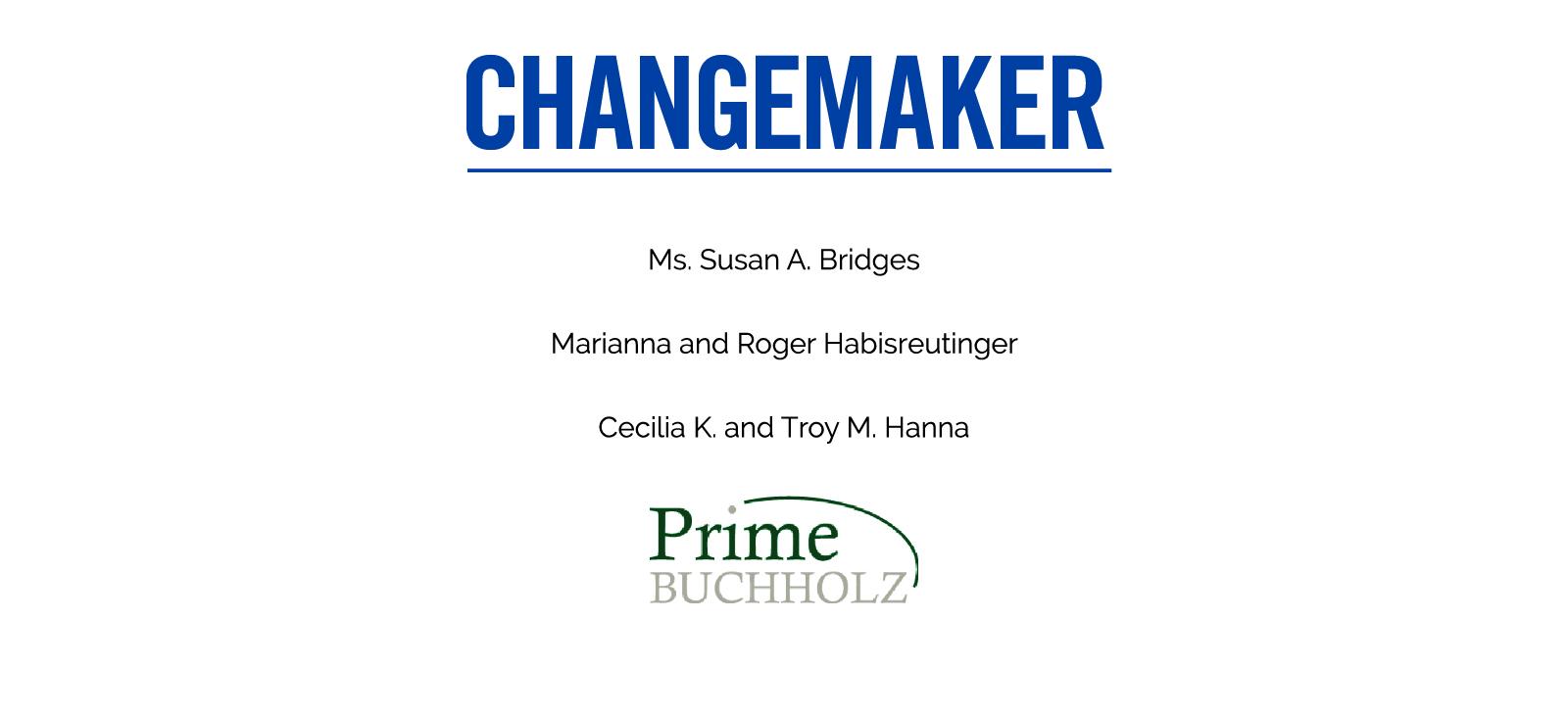 Changemaker Sponsorship